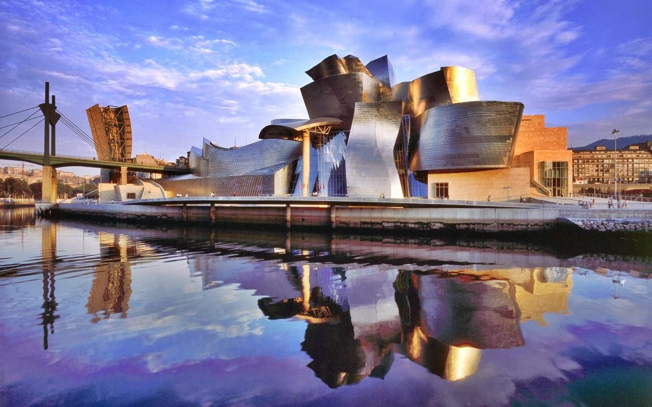 Bilbao: il museo Guggenheim - Tierra