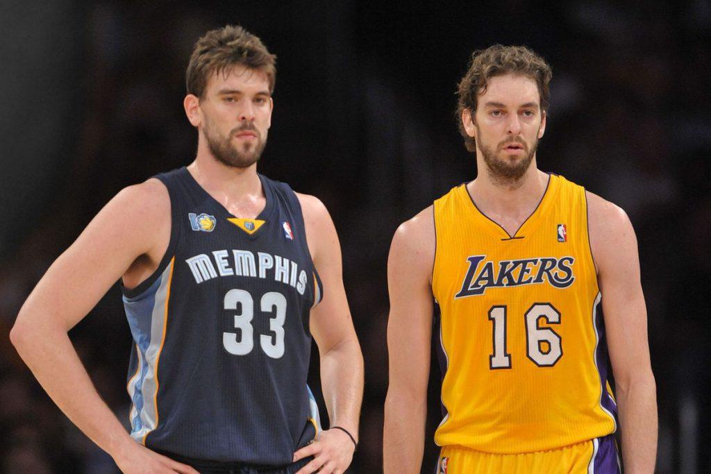 Basket: la storia dei fratelli Gasol. Marc e Pau alla conquista degli USA