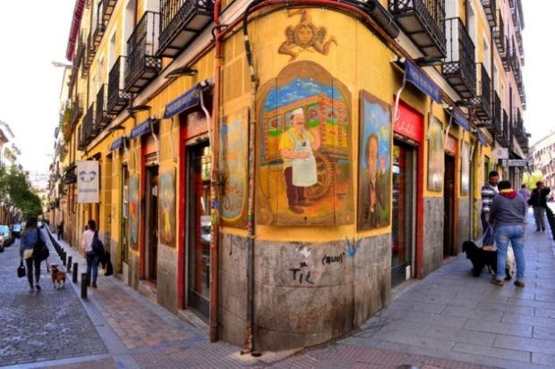 visitare Madrid street art