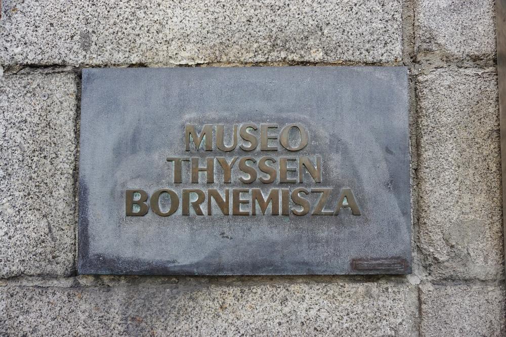 Thyssen Bornemisza museum