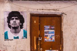 Maradona e la sua traiettoria spagnola
