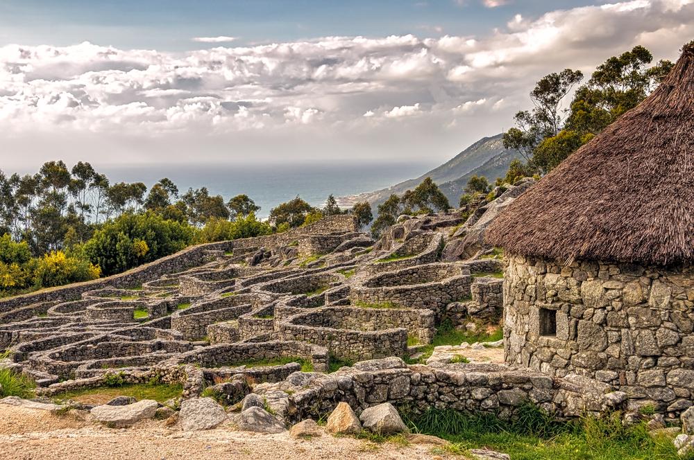 Santa Tecla, Galicia, Spagna - borgo abbandonato in vendita