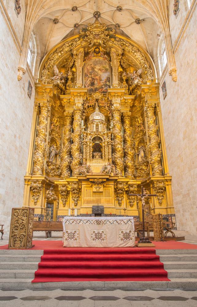 Convento di San Esteban, architetto spagnolo José Benito Churriguera