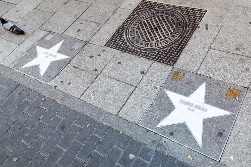 walk of fame madrid