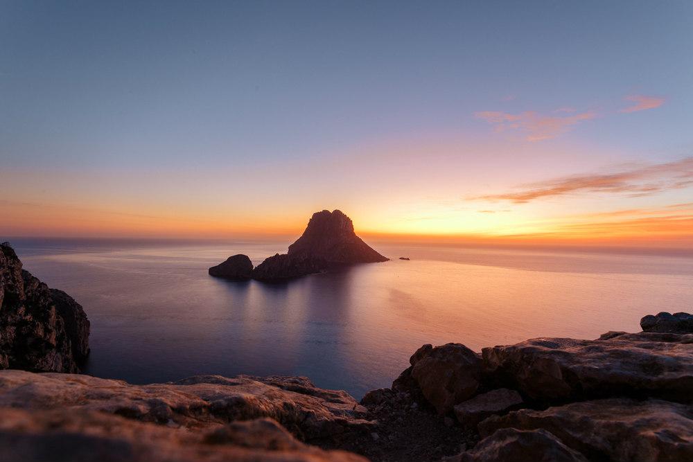 ibiza es vedra tramonto
